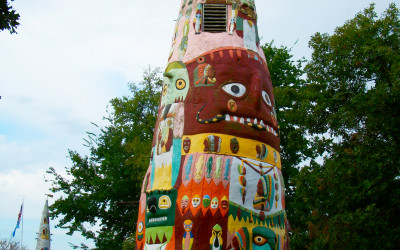 The Worlds Largest Totem Pole